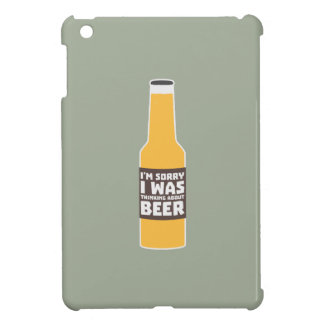 Thinking about Beer bottle Zjz0m iPad Mini Case