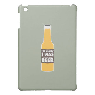 Thinking about Beer bottle Zjz0m iPad Mini Cover
