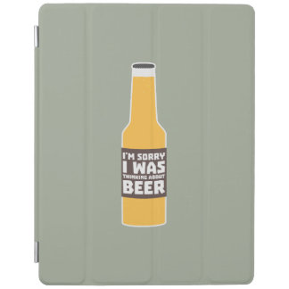 Thinking about Beer bottle Zjz0m iPad Smart Cover