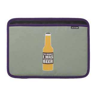 Thinking about Beer bottle Zjz0m MacBook Sleeve