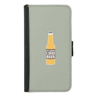 Thinking about Beer bottle Zjz0m Samsung Galaxy S5 Wallet Case