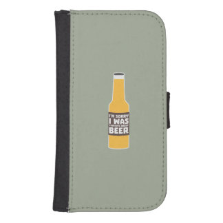 Thinking about Beer bottle Zjz0m Samsung S4 Wallet Case
