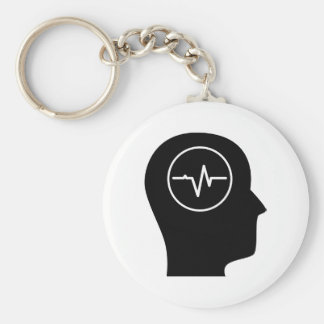 Thinking About Biomedical Engineering Keychain