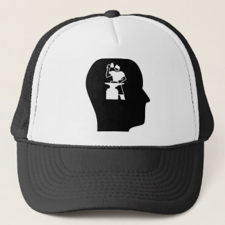 Thinking About Metal Working Trucker Hat
