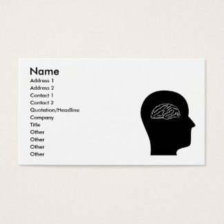 Thinking About Neuroscience Business Card