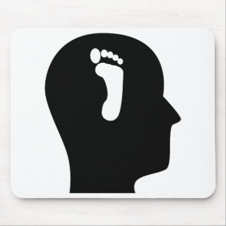 Thinking About Podiatry Mouse Pad