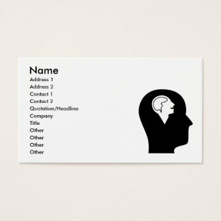Thinking About Psychology Business Card