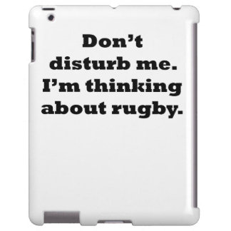 Thinking About Rugby