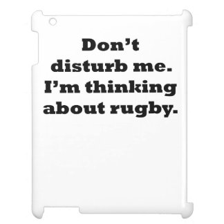 Thinking About Rugby Cover For The iPad