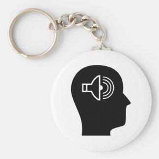 Thinking About Sound Keychain
