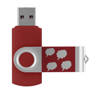 thinking about you USB by DAL USB Flash Drive