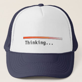 Thinking Bar Trucker Hat