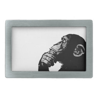 Thinking Chimp Belt Buckle