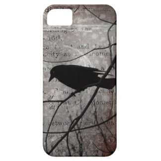 Thinking Crow Thoughts iPhone 5 Case