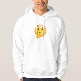 Thinking Face Emoji Hoodie