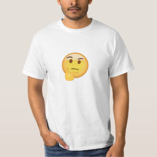 Thinking Face Emoji T-Shirt