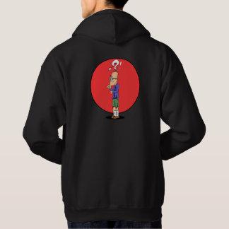 Thinking guy hoodie