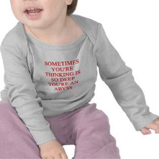 thinking joke t-shirts