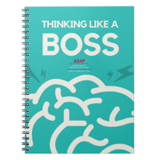 Thinking Like A Boss Spiral Notebook