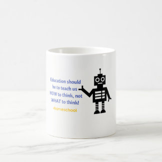 Thinking like a homeschooler Mug