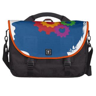 Thinking man laptop bags