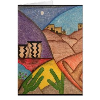 Thinking of You Arizona Southwestern Desert Card
