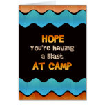 Thinking of You at Summer Camp Card