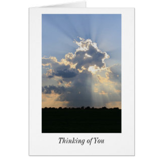 Thinking of You Blank Card