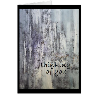 Thinking of you (blank inside) by DAL Card