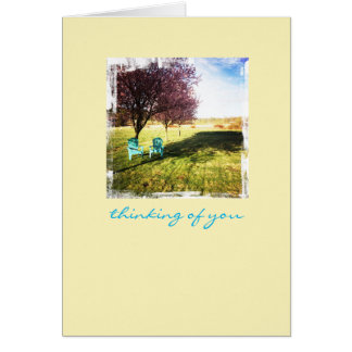 Thinking of You Cherry Blossom Note Card