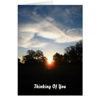 Thinking Of You, Feel Better Card