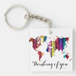 Thinking of you key chain