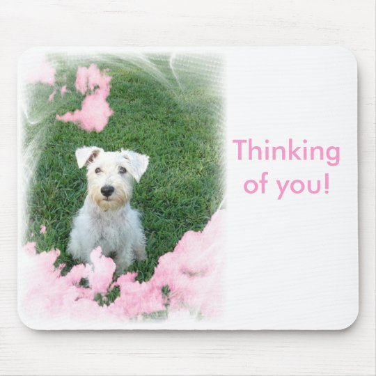 Thinking of you mouse pad