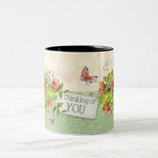 Thinking of you Mug - Florals