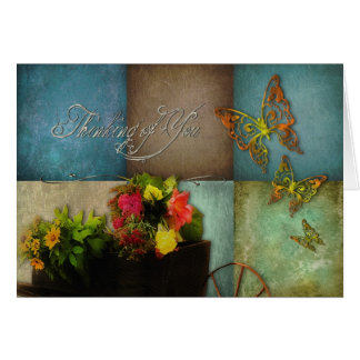 THINKING OF YOU - NOTE CARD - COUNTRY FEELING