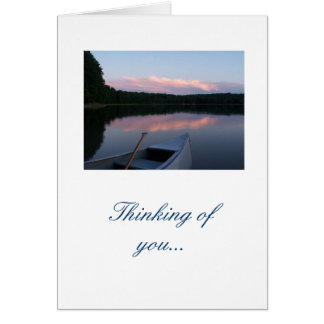 Thinking of you... notecard