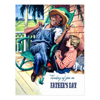 Thinking of you on Father's Day. Postcards