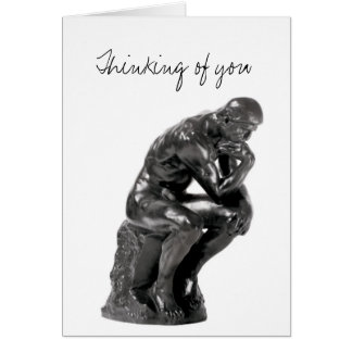 Thinking of You - Romantic Rodin Card