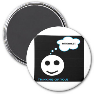 Thinking of you series collection 3 inch round magnet