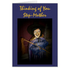 Thinking of You, Step-Mother-Greeting Card
