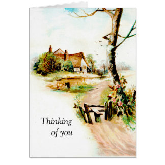 Thinking of you today card