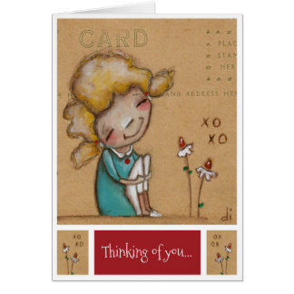 Thinking of You - Valentine Card