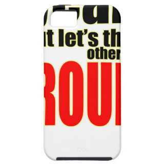 thinking other way around argument peace solution iPhone 5 case