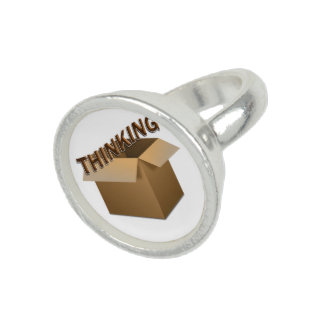 Thinking Outside The Box Photo Rings