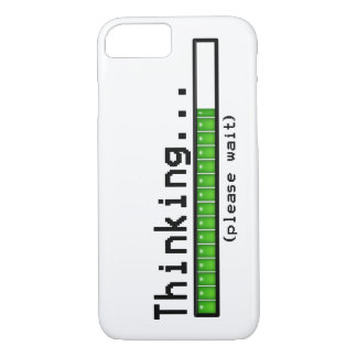 Thinking, Please Wait... iPhone 7 Case