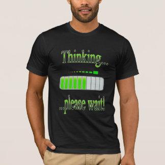 Thinking please wait progress bar T-Shirt