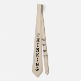 Thinking Tie - Think on it!