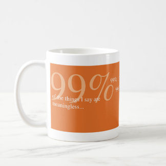 Thinklings Mug - 99%