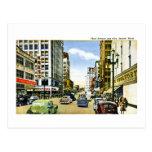 Third Avenue and Pike, Seattle, Washington Postcard