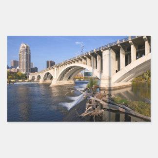 Third Avenue Bridge in Minneapolis Sticker